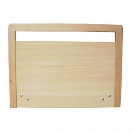 Cabecero/Piecero con marco de madera para camas artculadas