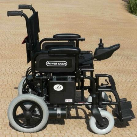 Silla de ruedas eléctrica plegable 15 km. autonomía