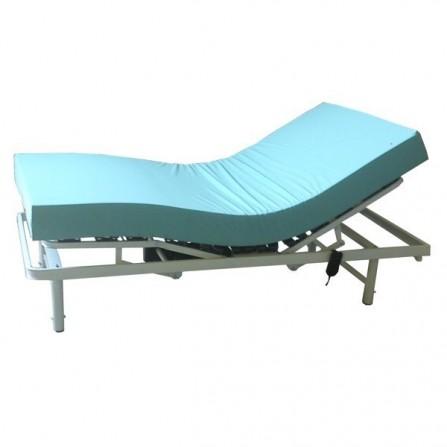 Somier elctrico articulado con colchón viscoelastico