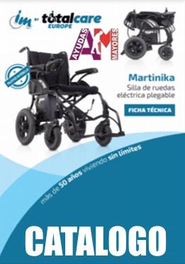 Catálogo Silla Eléctrica Martinika Evo