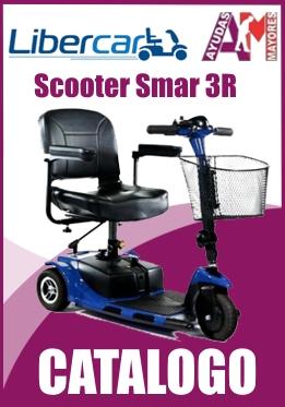 Catalogo scooter Smart 3 ruedas de Libercar