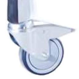 Ruedas metálicas del carro elevador de camas articuladas